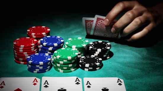 Playing Blackjack Poker at Library, Beating Dealer of ...